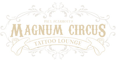 Magnum Circus Tattoo lounge in Cheltenham